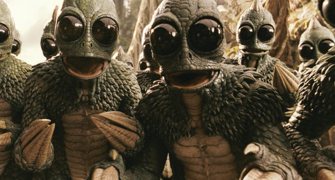 "The Sleestak (well, the actors who played them on ""Land of the Lost"")  invade for PopCon Milwaukee."