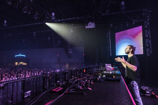 Zedd performs at the Jawbreaker Festival at the Wisconsin Center on Saturday, Oct. 27, 2018.