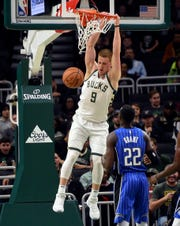 For Milwaukee Bucks guard Donte DiVincenzo, the Herd allows him to improve his all-around game and recover from injury.