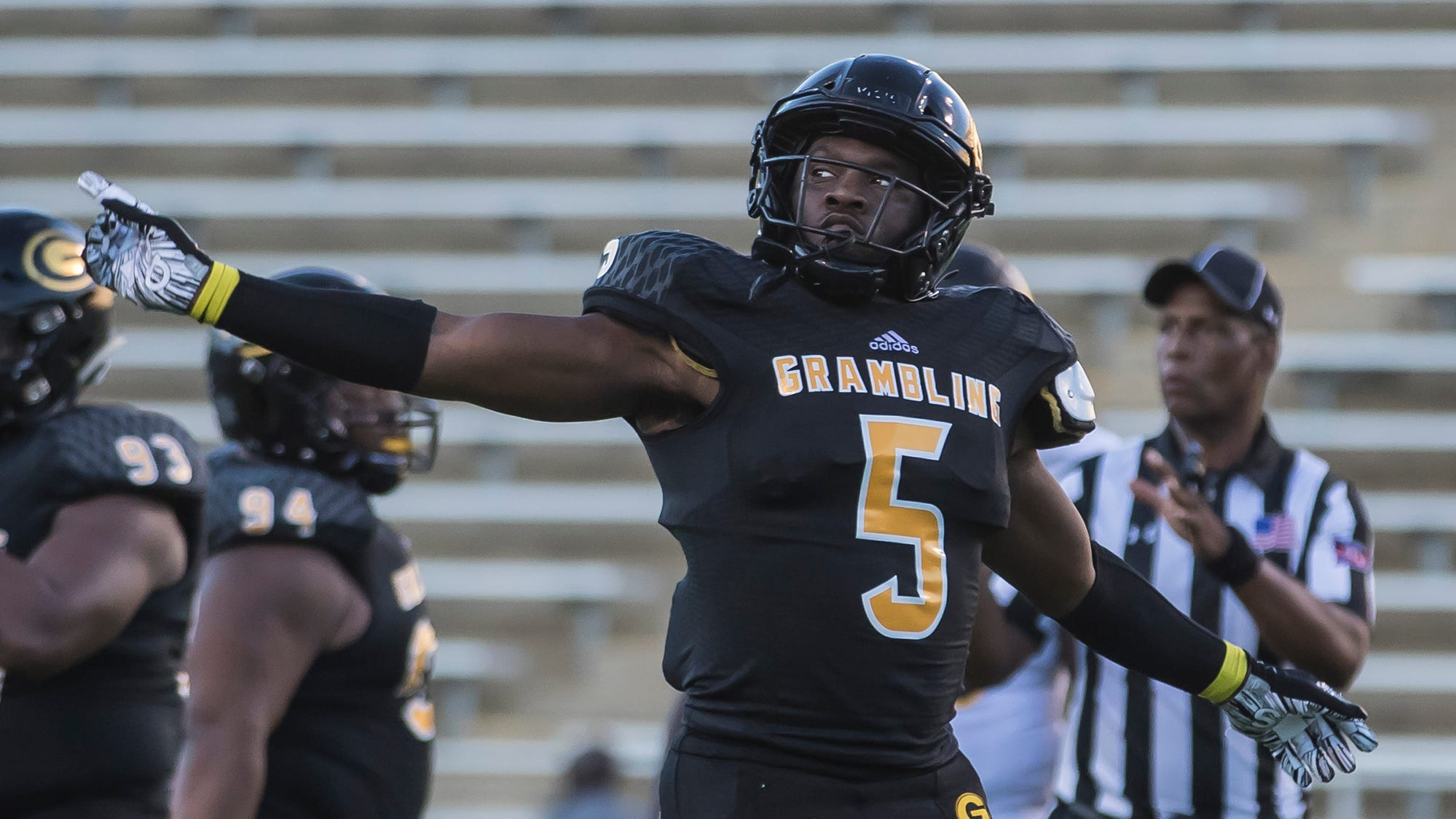 Grambling won 45-38 in a thrilling overtime winner against University of Arkansas Pine-Bluff at Eddie G. Robinson Memorial Stadium at Grambling State University in Grambling, La. on Oct. 27