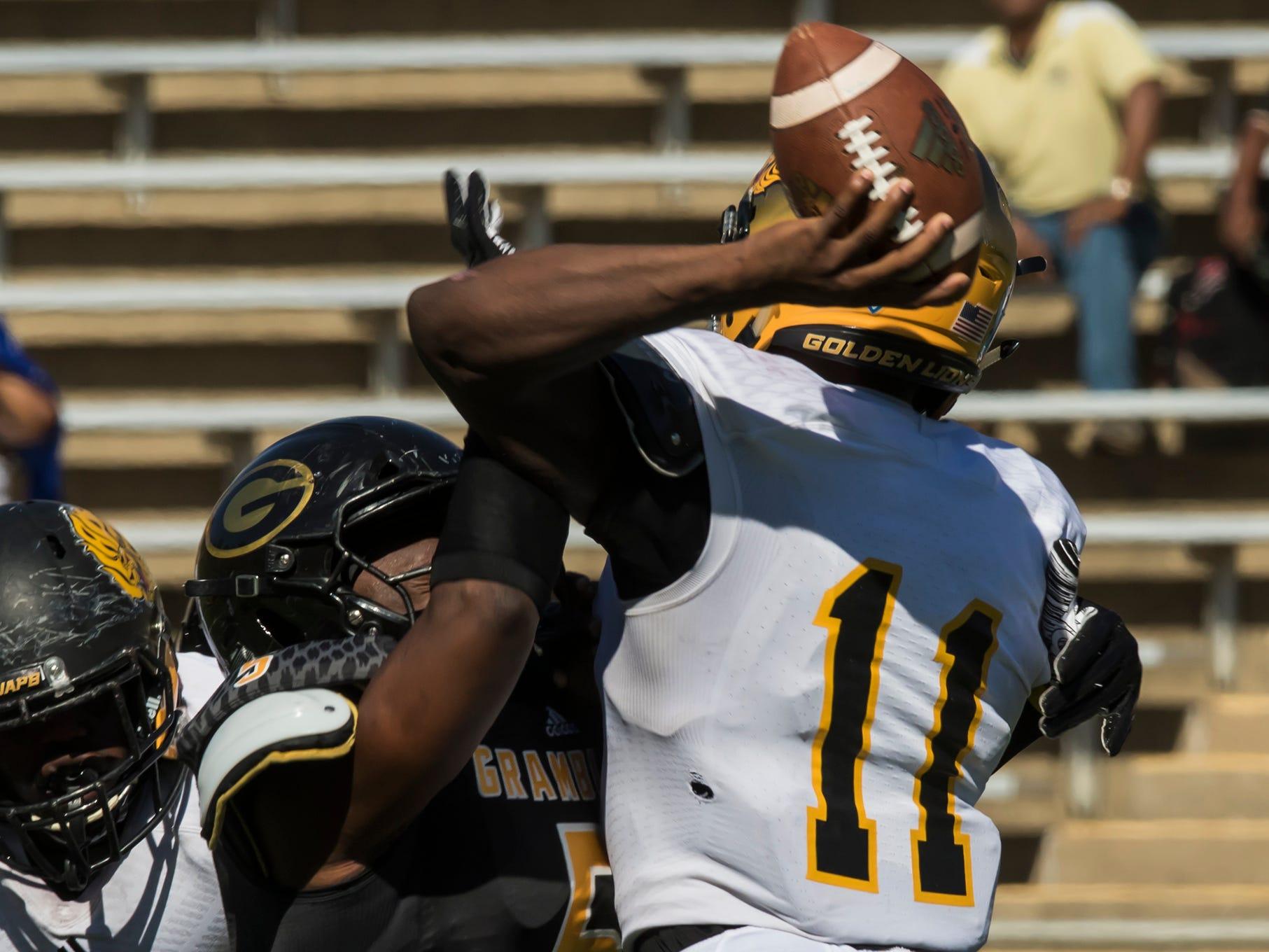 Grambling won 45-38 in a thrilling overtime winner against University of Arkansas Pine-Bluff at Eddie G. Robinson Memorial Stadium at Grambling State University in Grambling, La. on Oct. 27