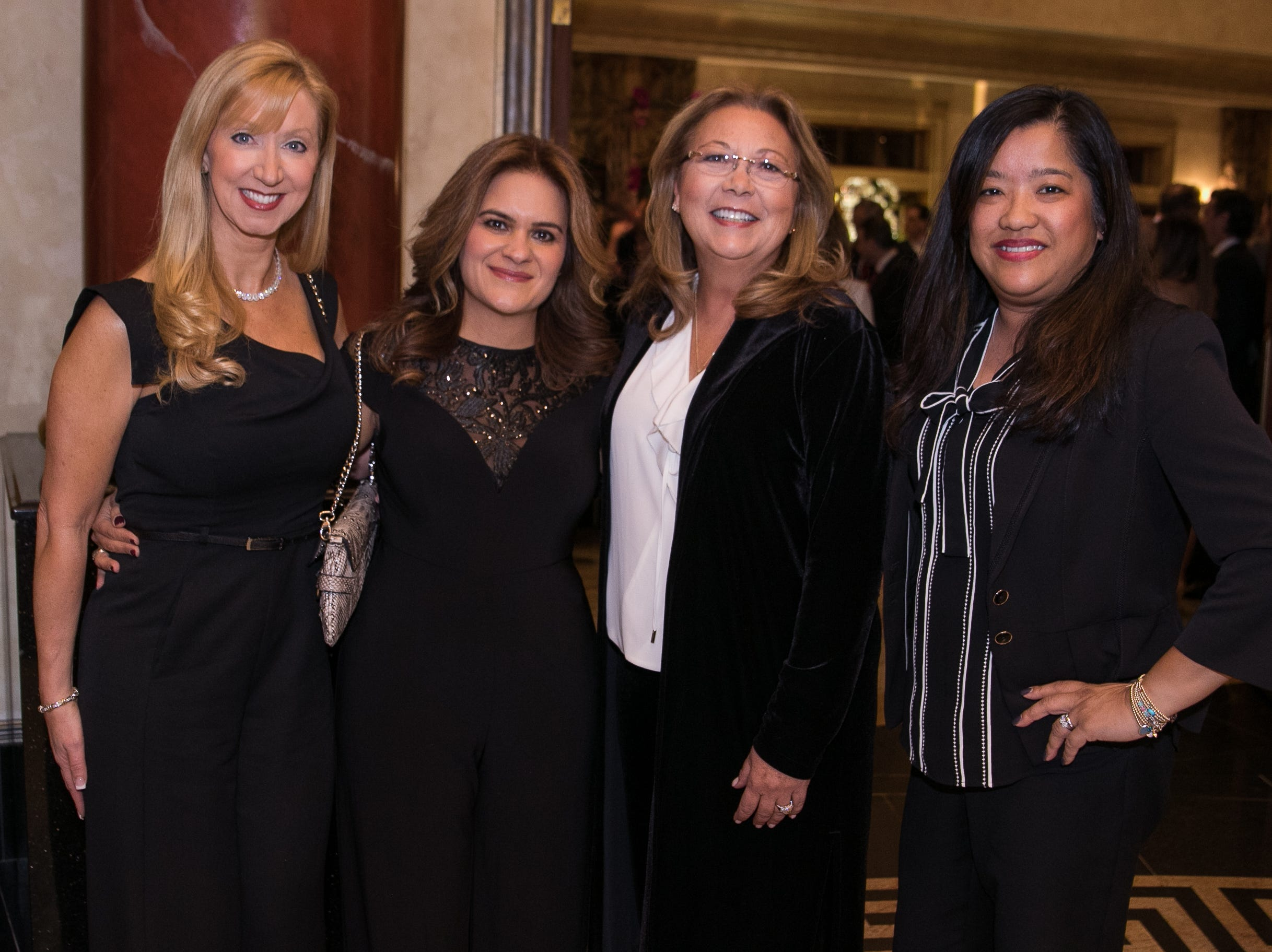 Jane Potenza, Talin Murad, Michele Whiteman, Maria Stewart. Don Bosco Prep held it's 17th Annual President's Gala at The Venitian in Garfield, NJ. 10/25/2018