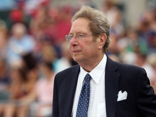 Voice of the Yankees' John Sterling