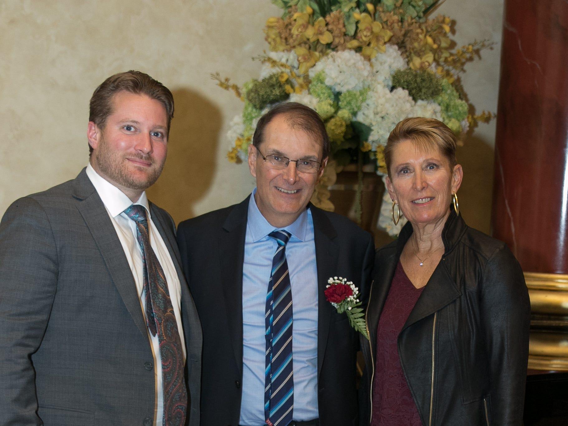 John Nepolitan and Family. Don Bosco Prep held it's 17th Annual President's Gala at The Venitian in Garfield, NJ. 10/25/2018