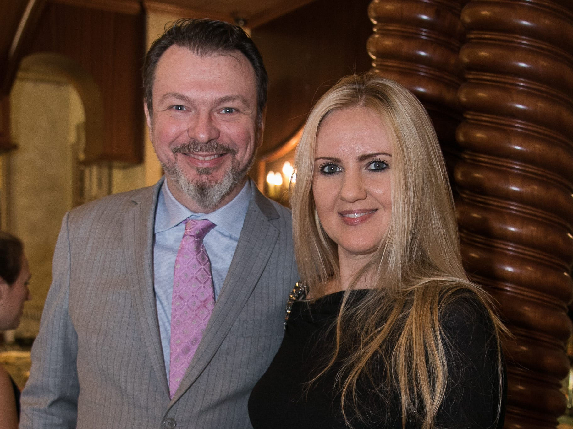 Ryan and Elena McGonigle. Don Bosco Prep held it's 17th Annual President's Gala at The Venitian in Garfield, NJ. 10/25/2018