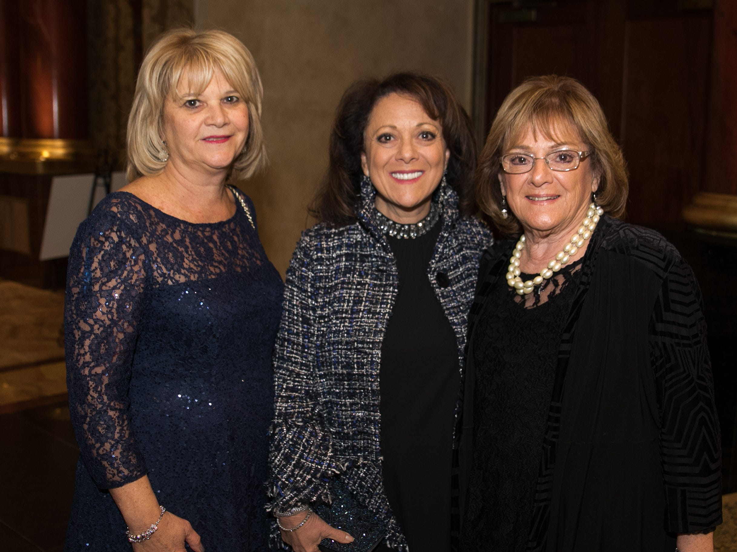 Donna Conte, Meryll Conte Clayton, Lucille Conte. Don Bosco Prep held it's 17th Annual President's Gala at The Venitian in Garfield, NJ. 10/25/2018