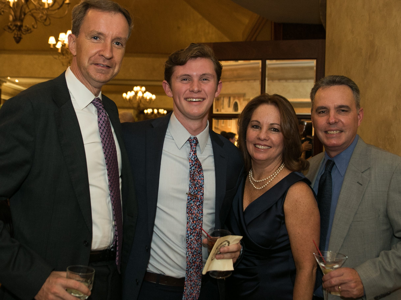 Patrick Springer, Kevin White, Kathy White, Tom Ryan. Don Bosco Prep held it's 17th Annual President's Gala at The Venitian in Garfield, NJ. 10/25/2018