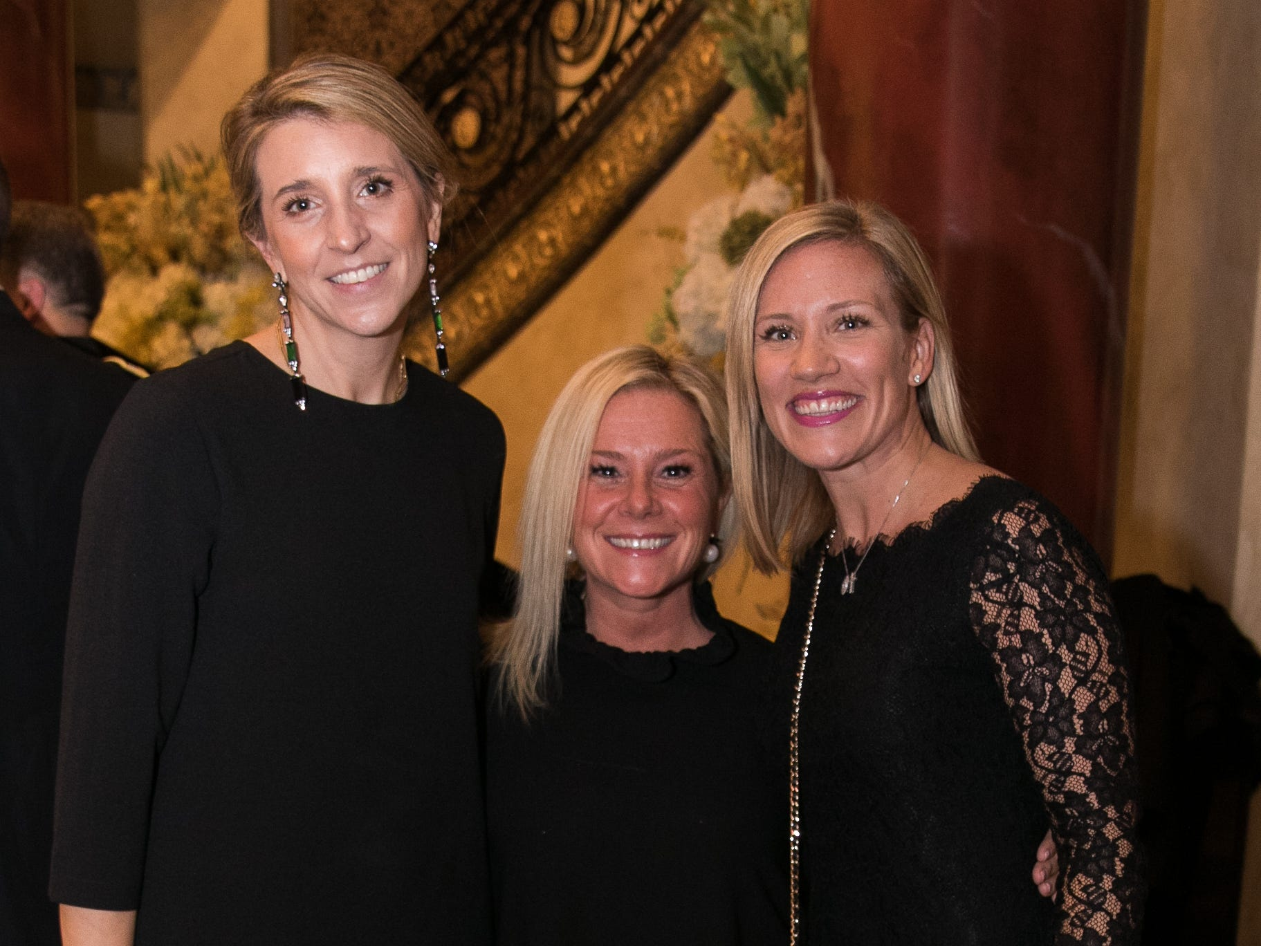 Paula Knight, Bridgette Kelly, Kate Eitner. Don Bosco Prep held it's 17th Annual President's Gala at The Venitian in Garfield, NJ. 10/25/2018