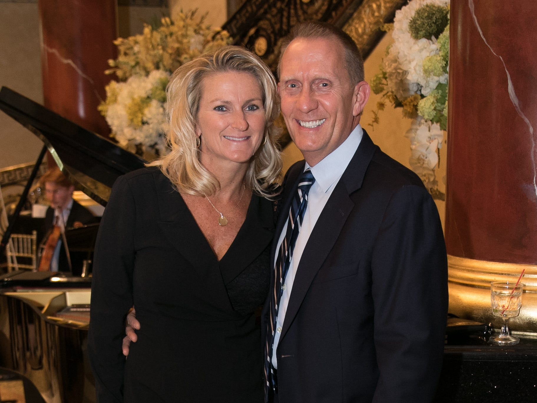 Lori and John Coolong. Don Bosco Prep held it's 17th Annual President's Gala at The Venitian in Garfield, NJ. 10/25/2018