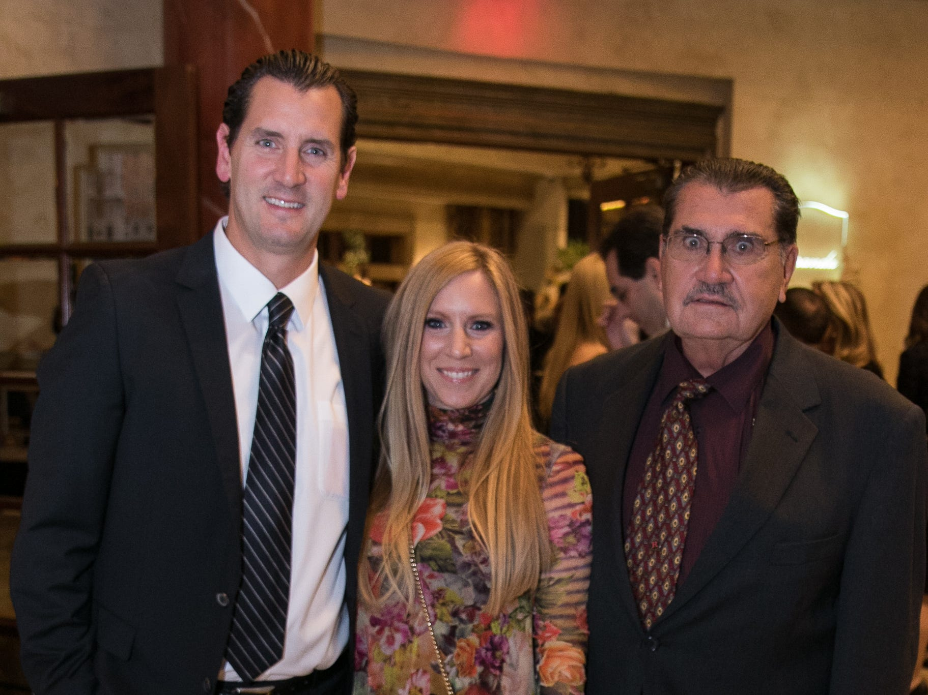 Greg, Sheryl, and Frank Mantonti. Don Bosco Prep held it's 17th Annual President's Gala at The Venitian in Garfield, NJ. 10/25/2018