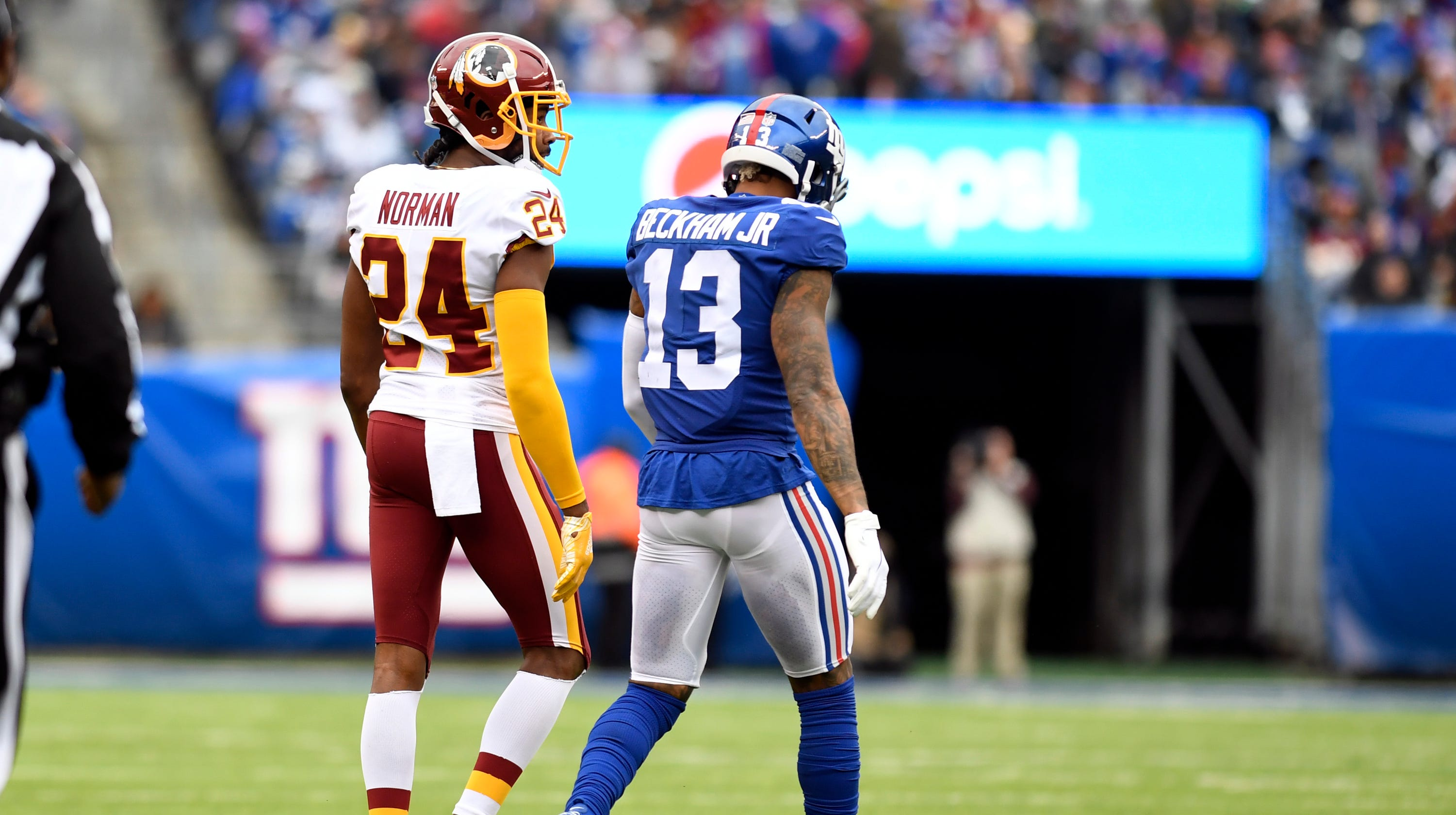 huge selection of 4c038 05681 Odell Beckham Jr. won't play Sunday for NY Giants vs. Redskins