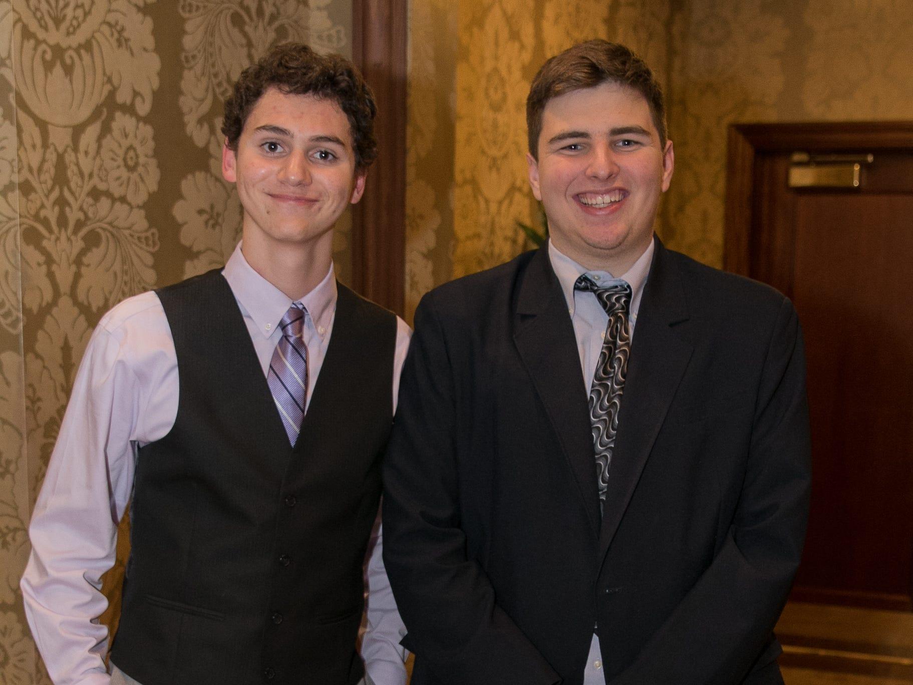 Sebastian Fox, Curtis Bommer. Don Bosco Prep held it's 17th Annual President's Gala at The Venitian in Garfield, NJ. 10/25/2018