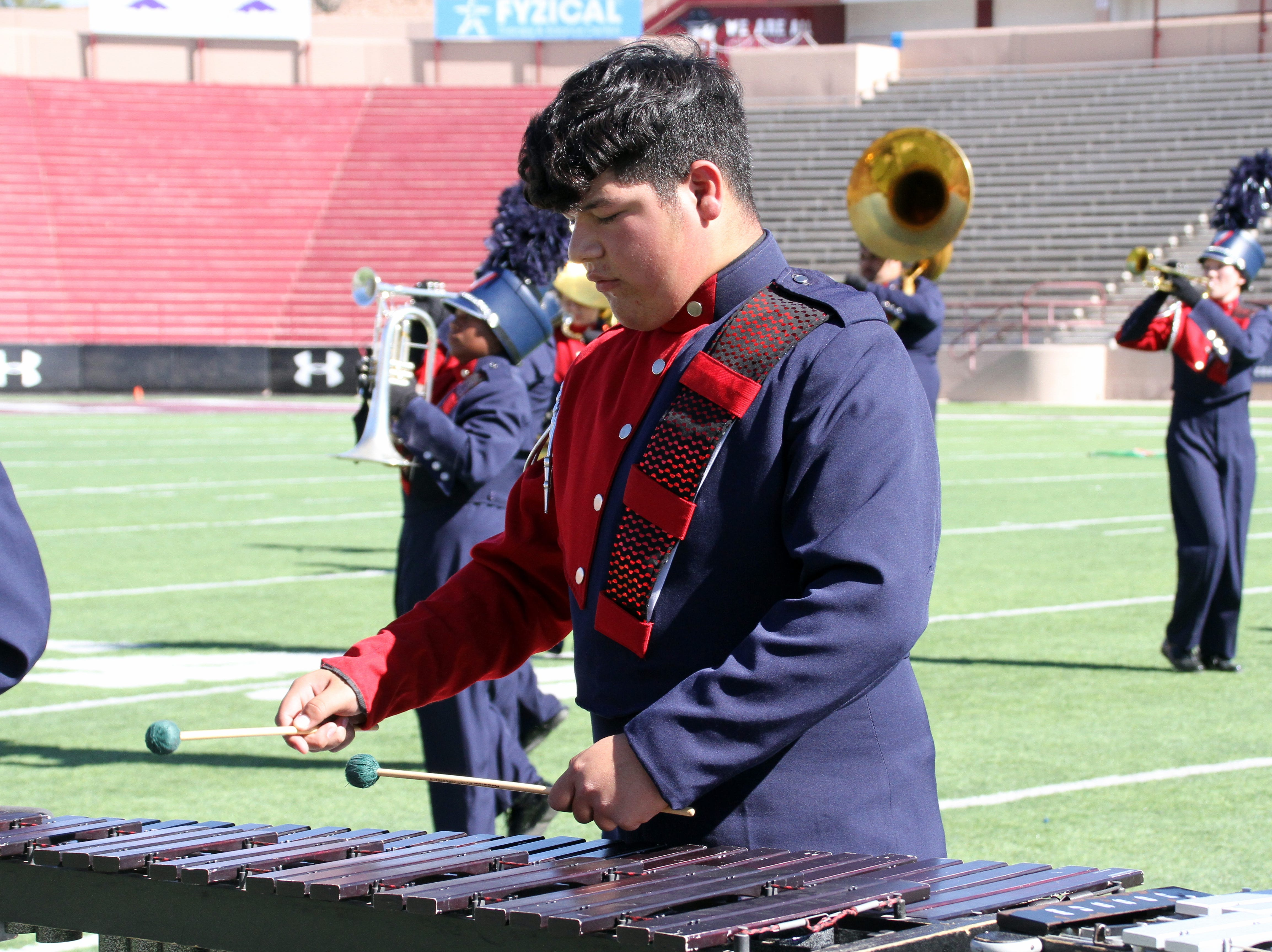Pit 'Cats are an intricate asset to the marching performance.