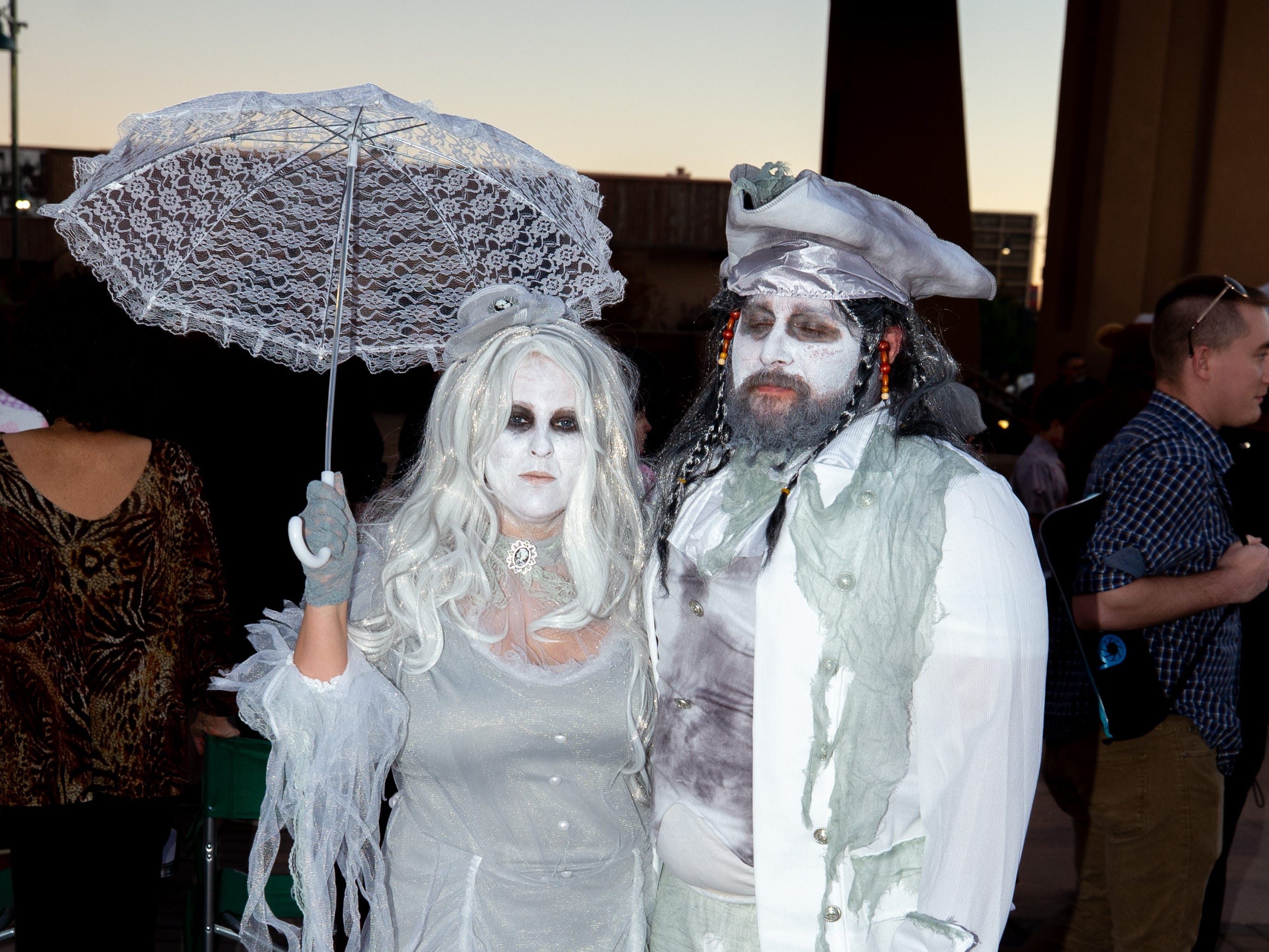 Pirate ghosts at the 2018 Zombie Walk held on Saturday, Oct. 27, 2018.
