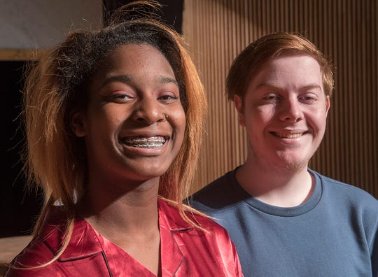 Co-asststant directors T'ea Martin and Ryan Erickson also act in the play.