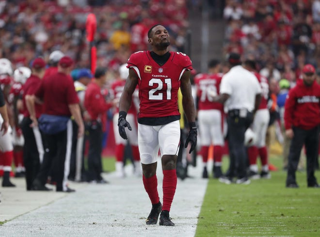 Arizona Cardinals cornerback Patrick Peterson will have a tough test Sunday opposite speedy Chiefs receiver Tyreek Hill.
