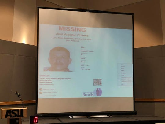 Missing person Abel Antonio Chavez is just one nearly 2,000 people reported missing in Arizona. The Missing in Arizona event, held on Oct. 27, offered resources to help reunite families at Arizona State University's West campus in Glendale.