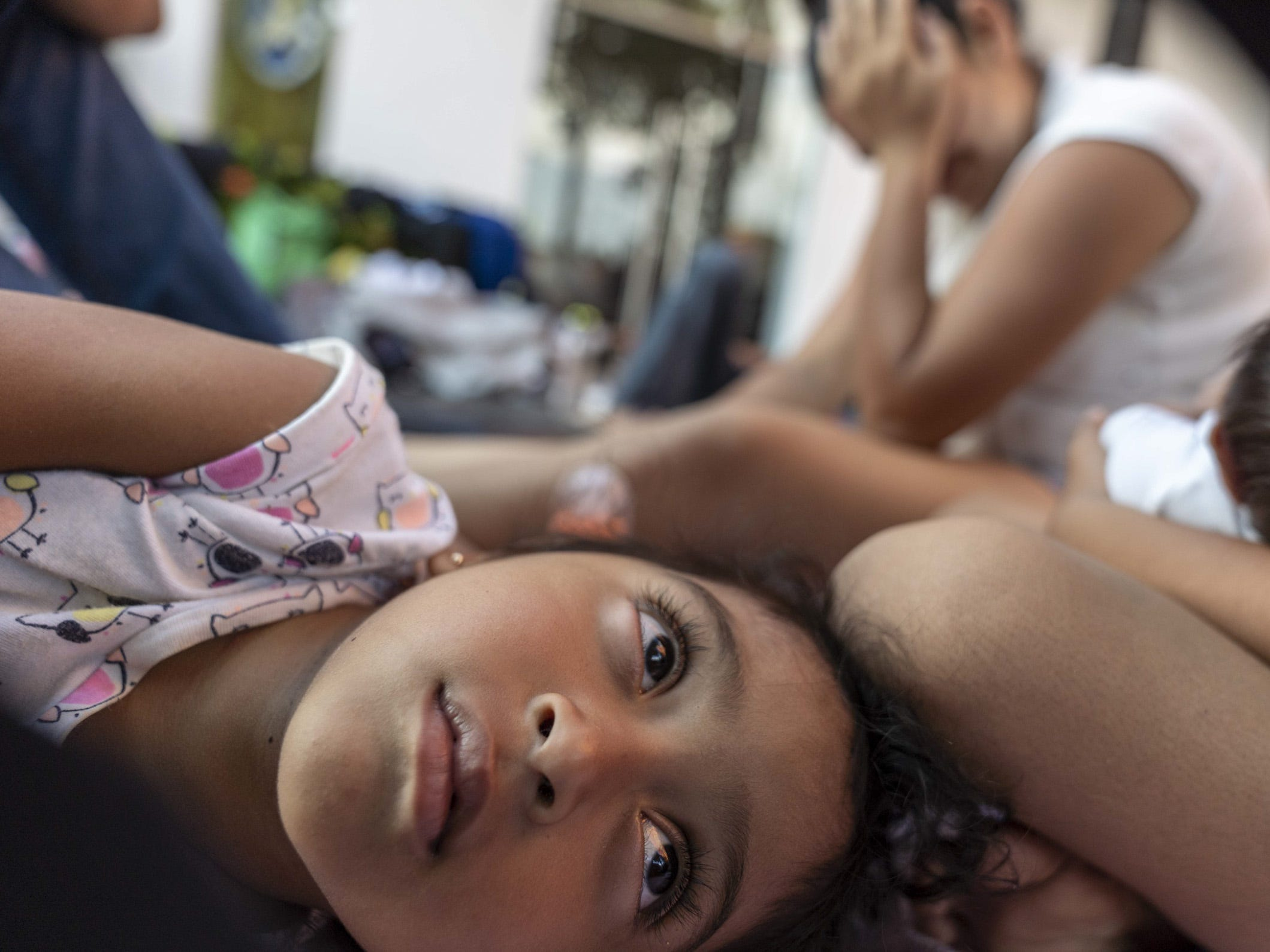 As of Oct. 27, Ernesto Martinez, 27, and his wife Yesenia, 23, have been traveling with their three daughters, including a baby who was just 17 days old when they joined the caravan.