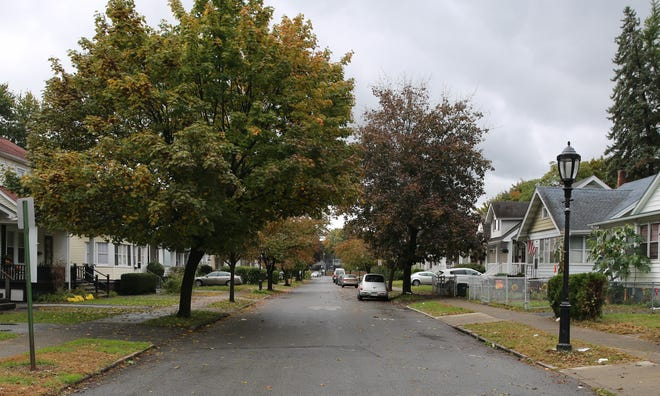 A look at Edgar Street in the City of Poughkeepsie, where a 30-year-old city man was shot early on Sunday morning, according to city police. He was transported to a local hospital.
