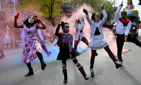 The York Halloween Parade returns for the 69th year, Sunday, October 28, 2018. 