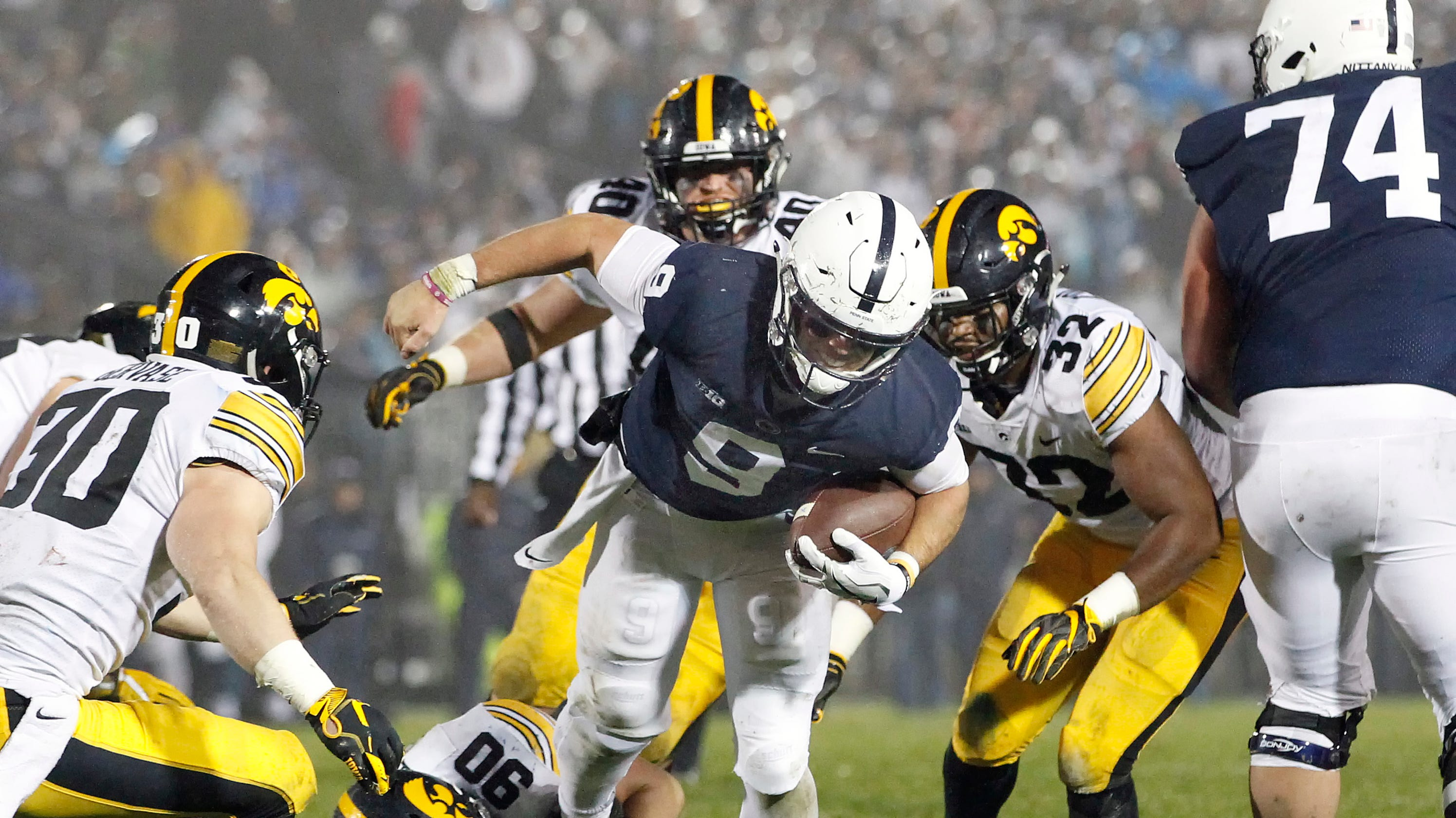 79737ea393068 Trace McSorley s Penn State legend grows again vs. Iowa. Better than ever  before.