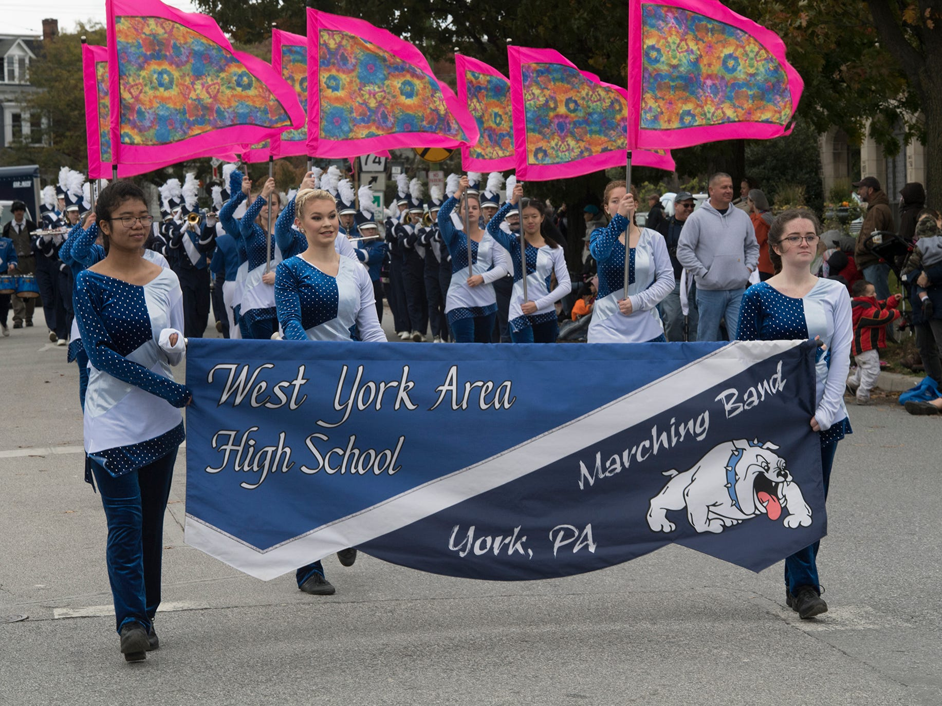 West York Area High School during the 69th Annual York Halloween Parade.
