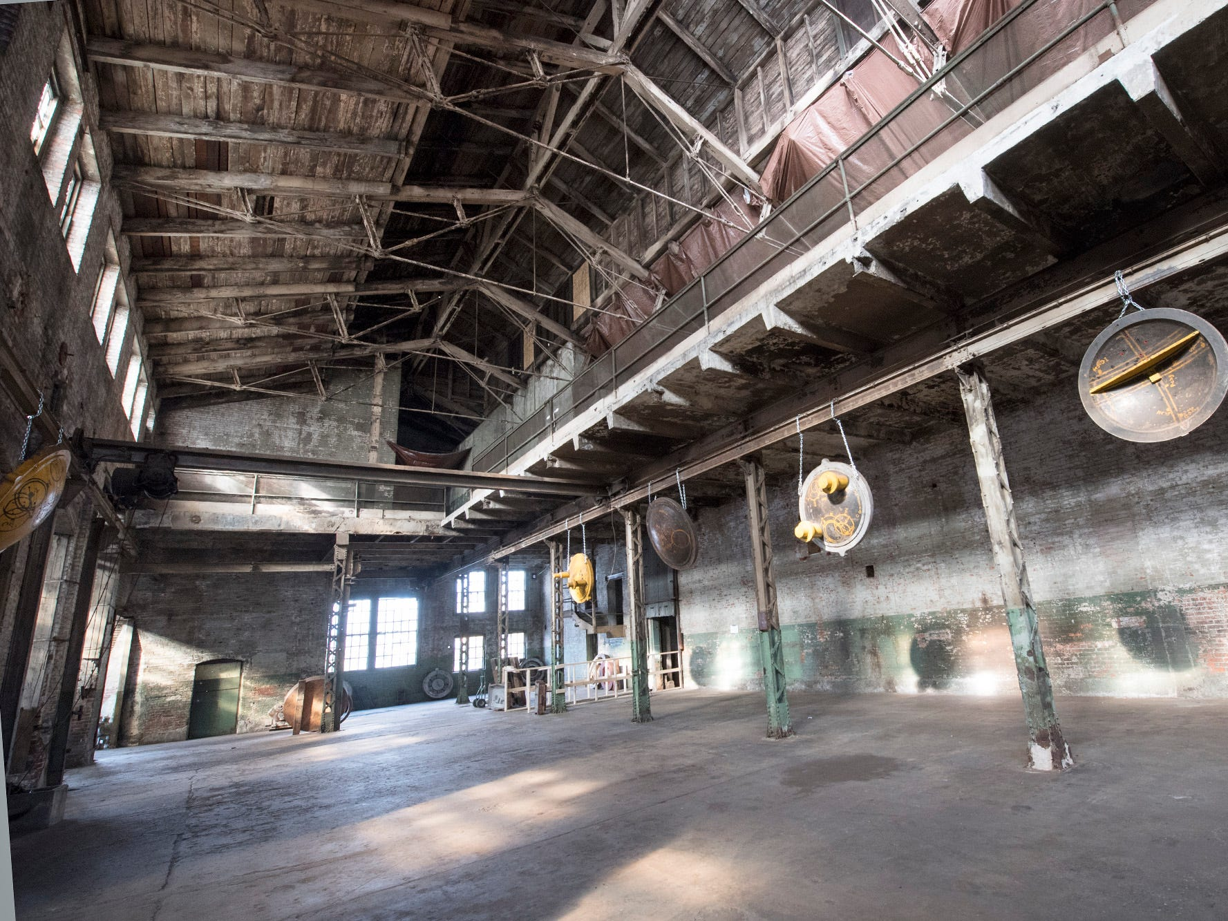 This is inside the foundry building at 145 N. Hartley St. in York. The 54,000-square-foot building has been gutted and refurbished, however, no initial plans have been made for the site.