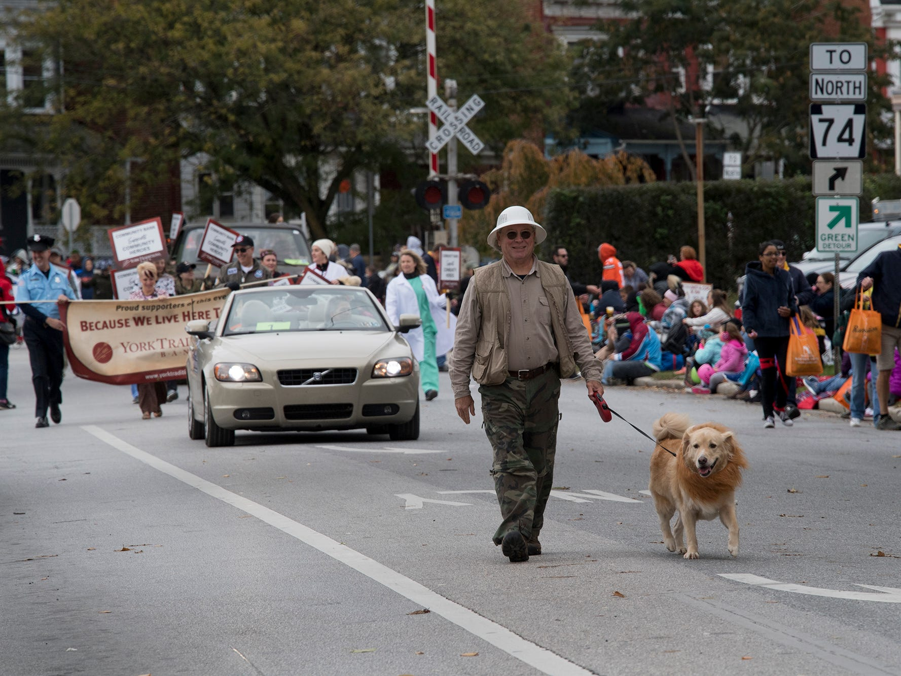 The 69th Annual York Halloween Parade presented by York Traditions Bank Sunday in York begins.