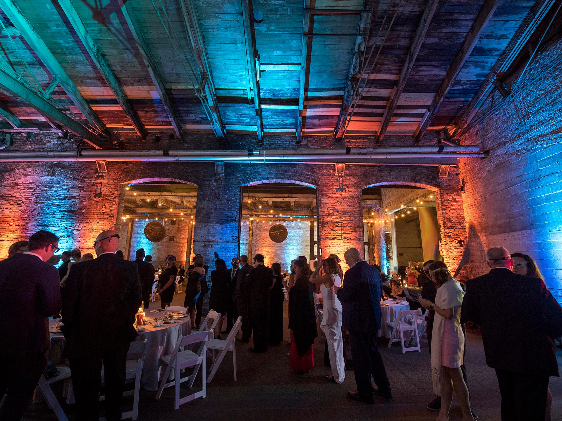 Downtown Inc.'s Fifth Annual Masquerade Ball was held at 145 N. Hartley Street Saturday, the site of the former Pewtarex Foundry and York Manufacturing Company's ice-machine making plant.Ê