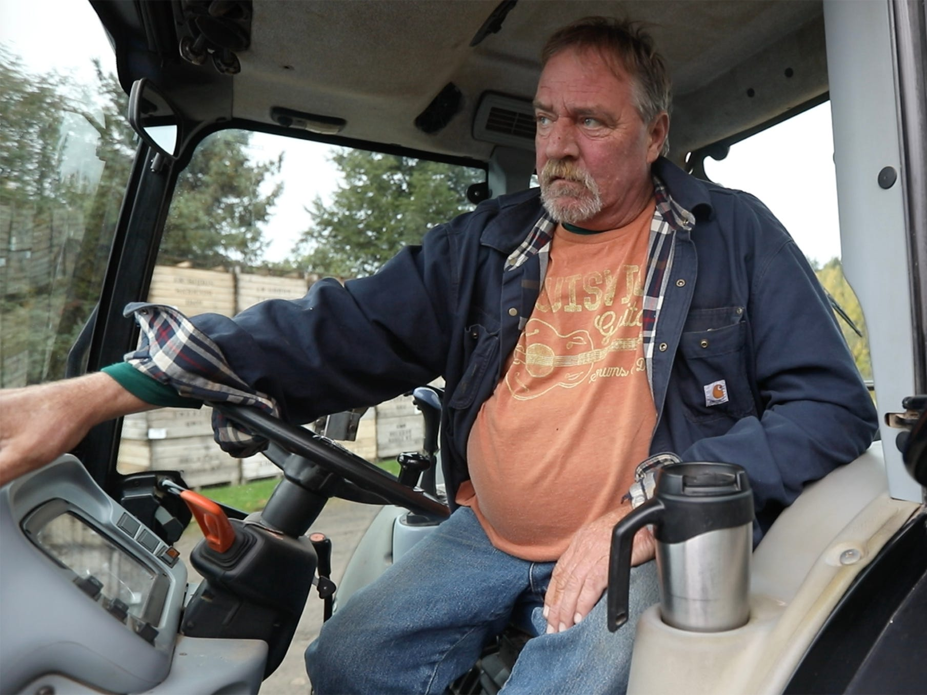 Mike Beckens, a partner in GMB Beckens Farms LLC, said it was unsettling coming to the orchard wondering whether the suspect in the recent shootings was hiding in his barn.