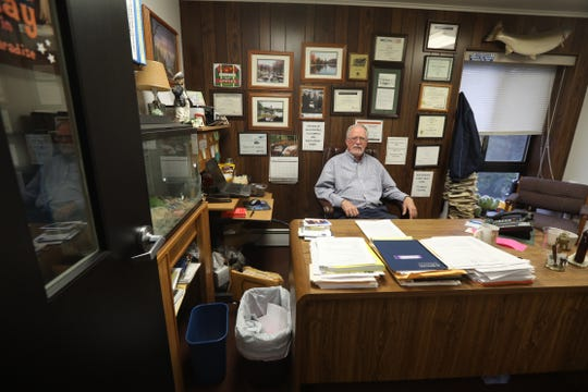 Steve LeRoy is the town supervisor for the Town of Sodus.