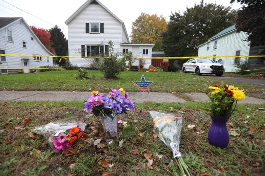 Sodus Homicide Home Flowers