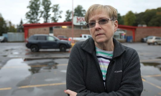 Deb LeRoy, wife of the town supervisor, talks about heading into the store and having the owner come out and tell her to go home there was an active shooter in the area.