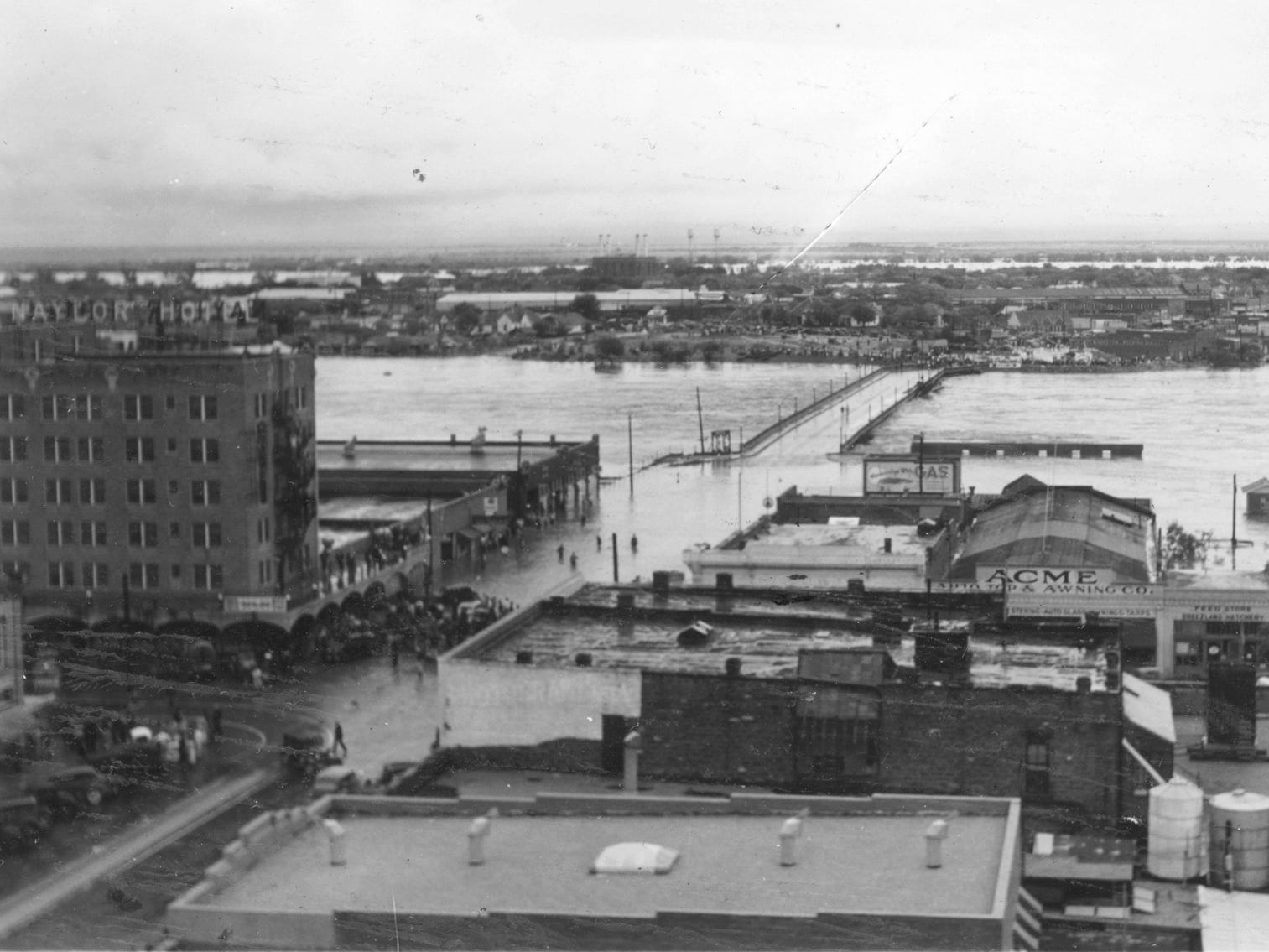 The San Angelo 1936 flood.