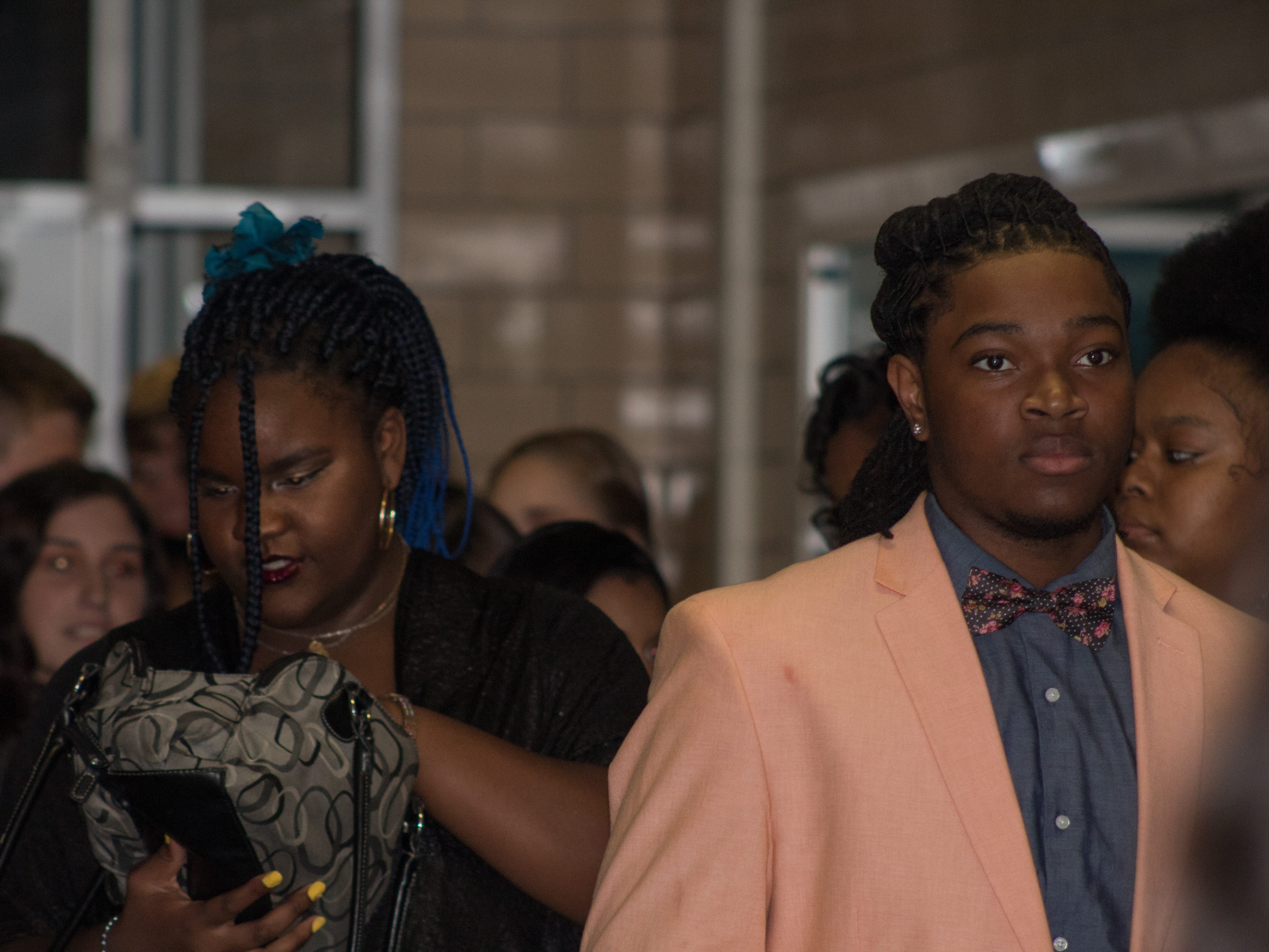 Wicomico High School held its Homecoming Dance Saturday, Oct. 27, 2018. The theme was Blue and Gold. Tyairra Sheppard and Khalil Evans were crowned the Homecoming Queen and King.