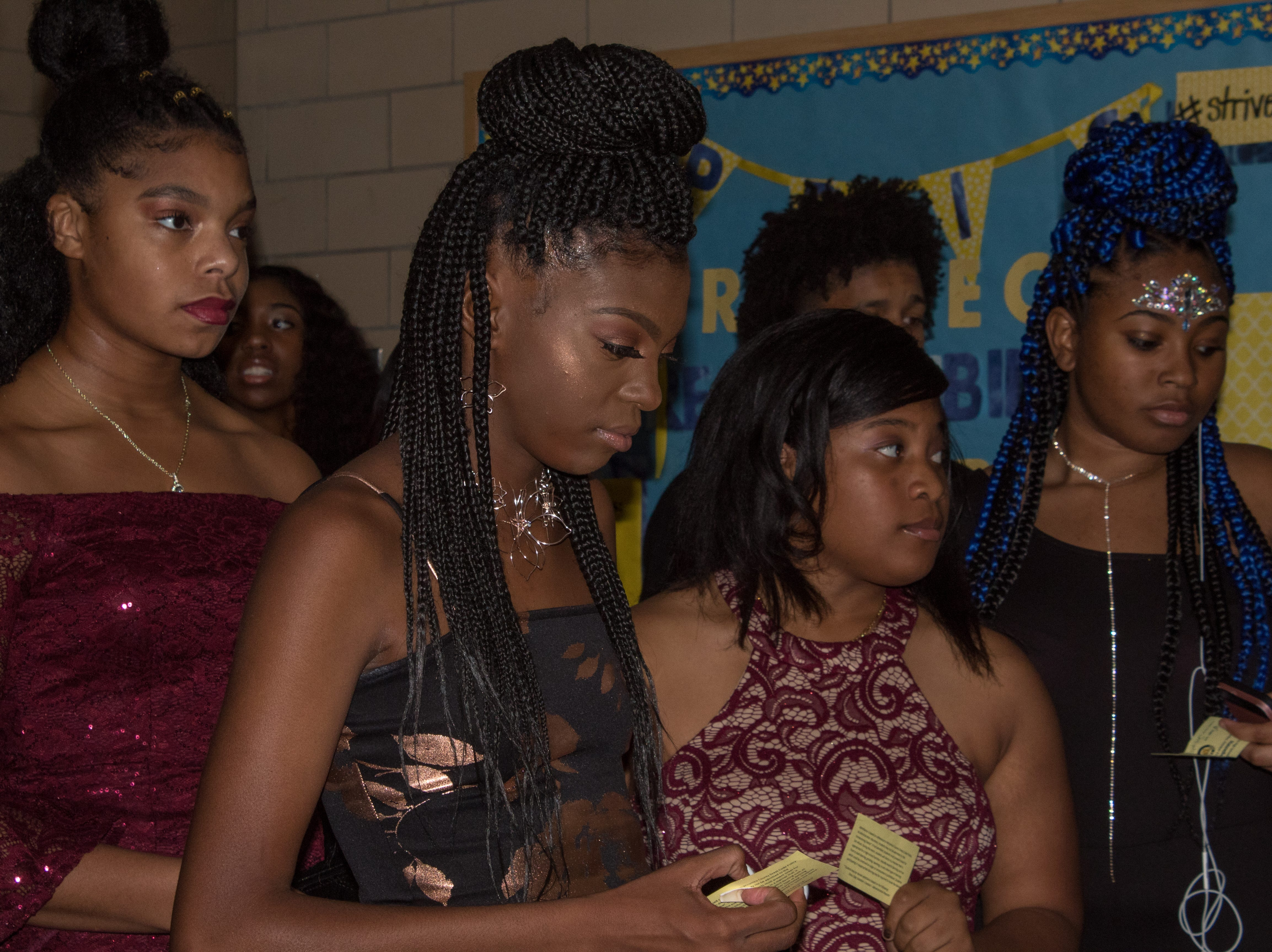 Wicomico High School held its Homecoming Dance Saturday, Oct. 27. The theme was Blue and Gold. Tyairra Sheppard and Khalil Evans were crowned the Homecoming Queen and King.