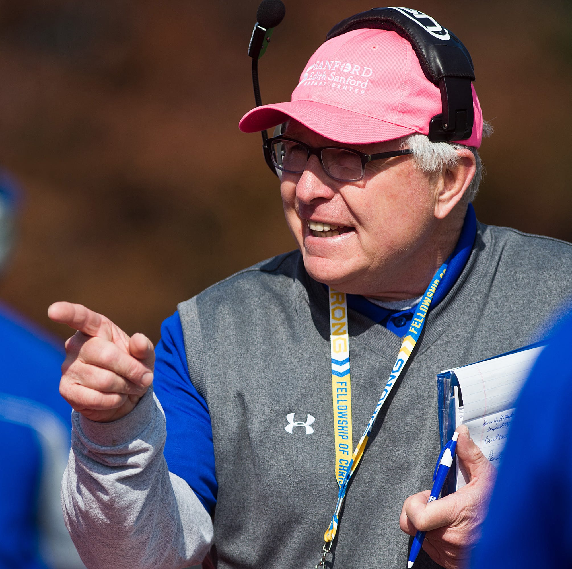 South Dakota State football coach John Stiegelmeier signs five-year extension
