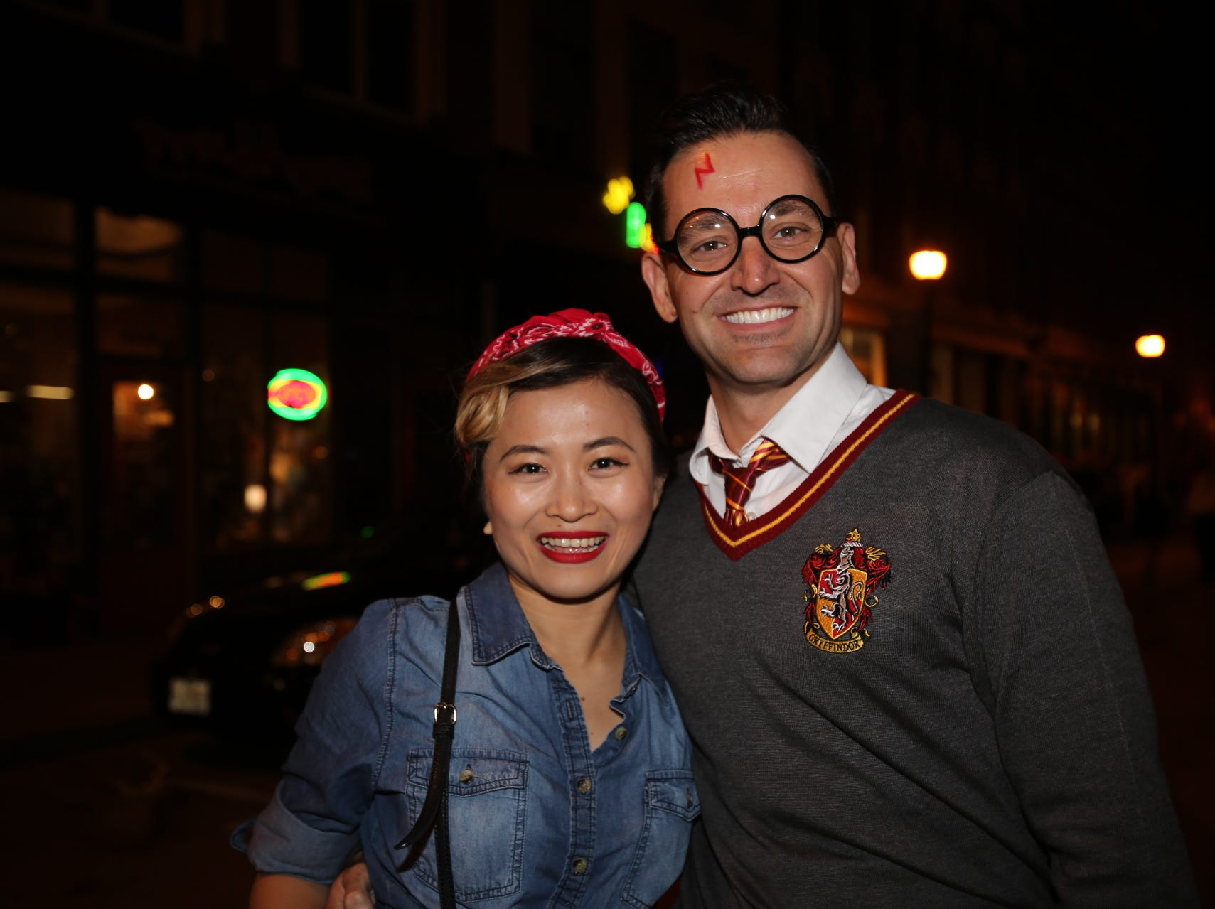 Tracy Nguyen and Jared Vandersluis