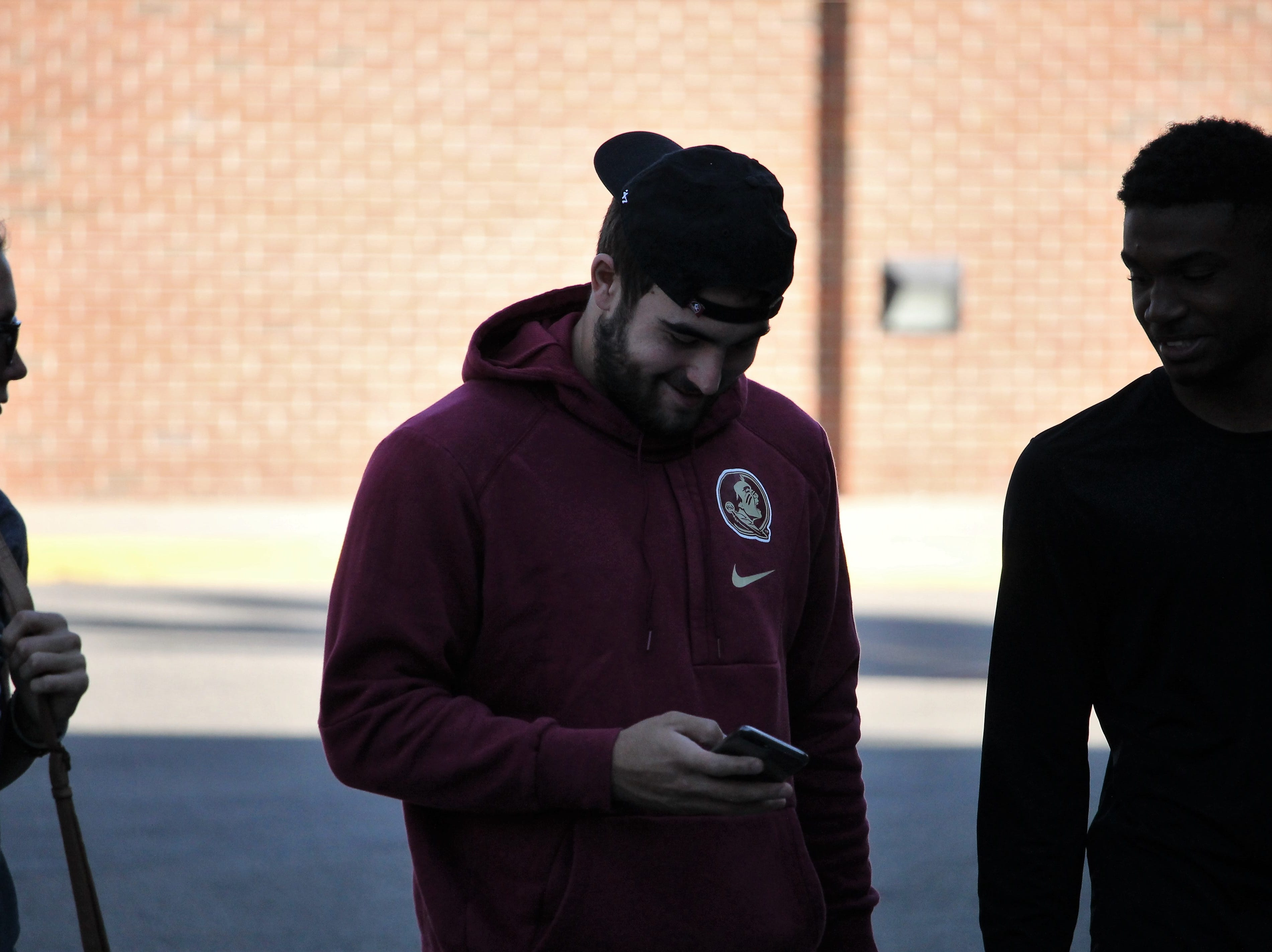 FSU four-star quarterback commit Sam Howell visits FSU for the Clemson game in 2018.