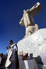 Thousands of Catholic faithful will make the 5-mile pilgrimage to Mount Cristo Rey on Sunday.