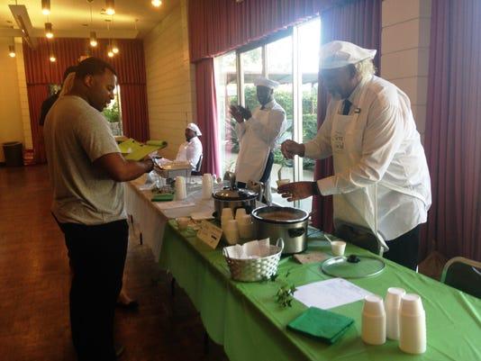 Judge Travis Robbins Tastes Vegetarian Butter Beans
