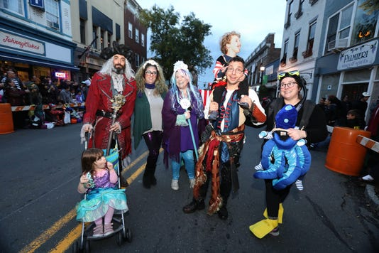 Nyack Halloween Parade
