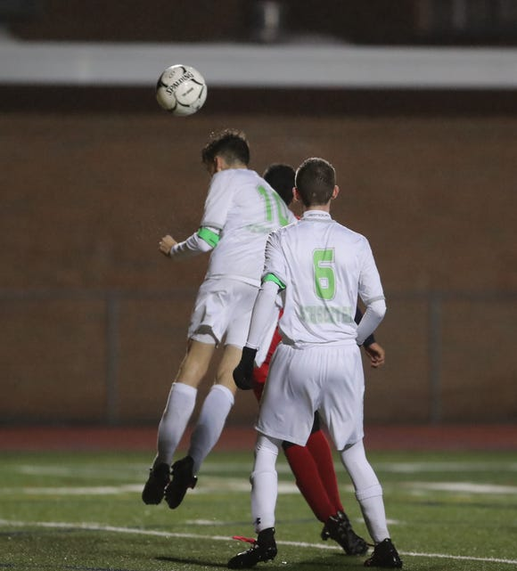 Solomon Schechter defeats Hamilton 2-1 in the boys class C sectional soccer finals at Lakeland High School in Shrub Oak on Saturday, October 27, 2018.