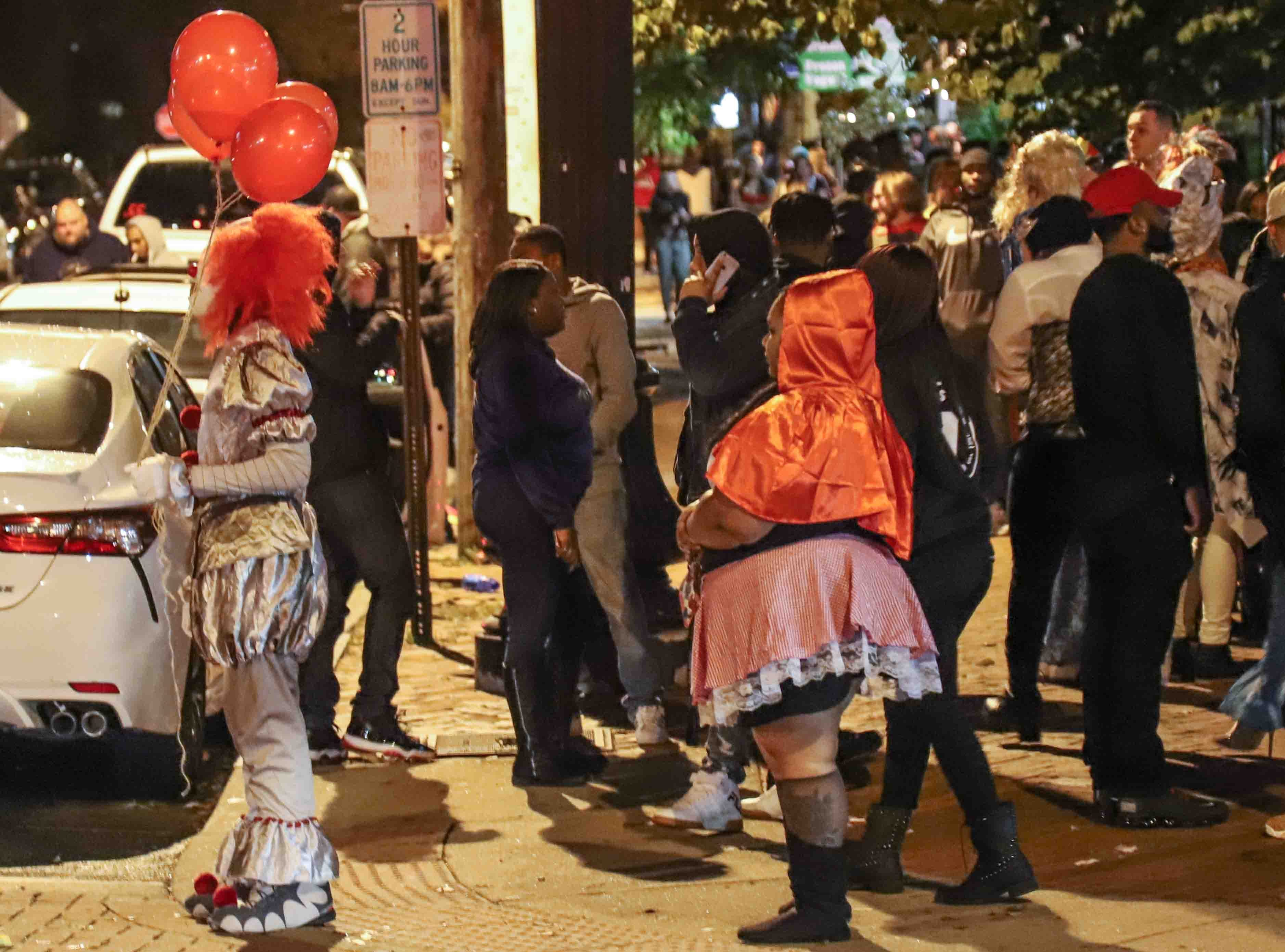 Crowds at the annual Halloween Loop Saturday, Oct. 27, 2018, in Wilmington.