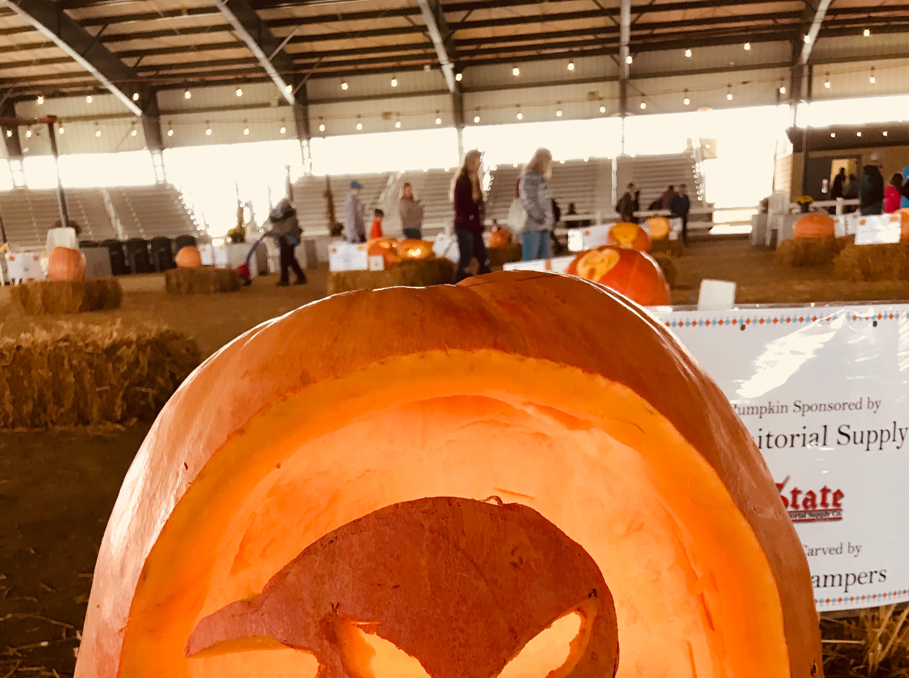 Another offering at the first Great Delaware Pumpkin Carve.