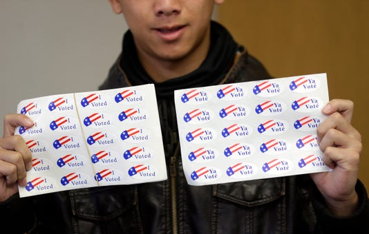Ap California Youth Vote A File Usa Ca