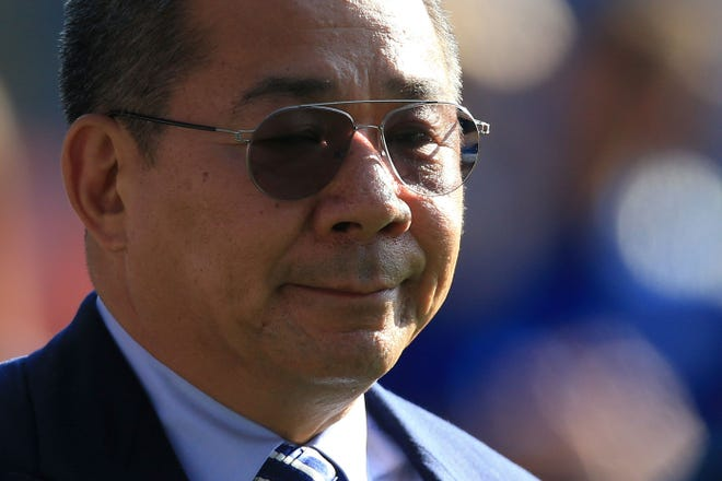 Leicester City chairman Vichai Srivaddhanaprabha died in a helicopter crash, the team announced.