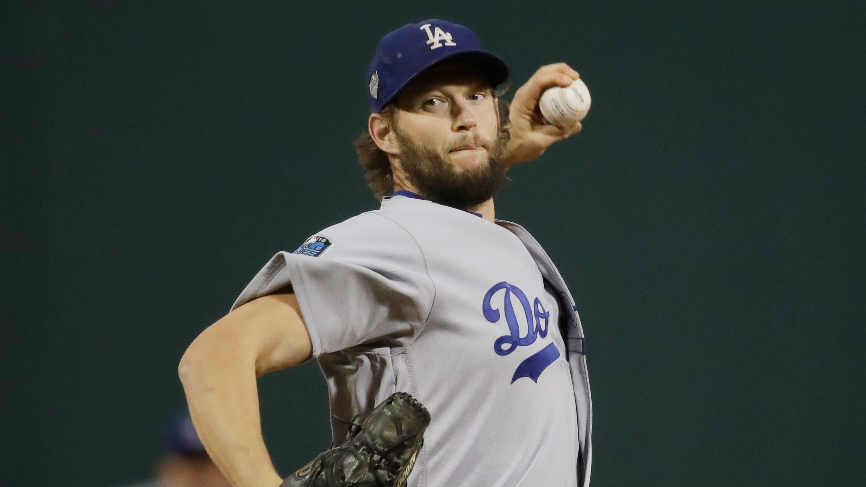 a5d29765d Clayton Kershaw before World Series Game 5 start   I don t really care  about legacy