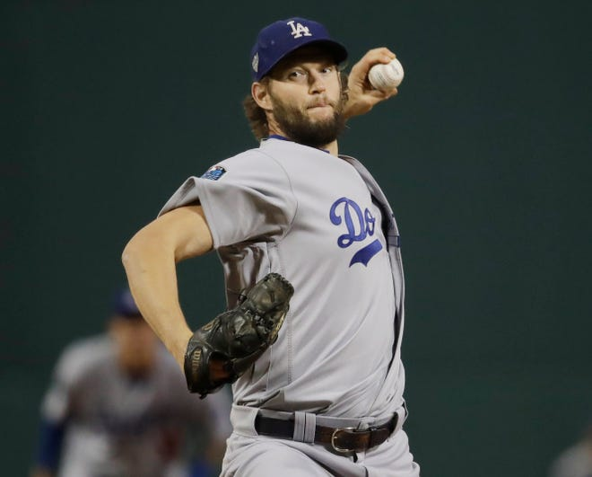 Clayton Kershaw will start Game 5 for the Dodgers.
