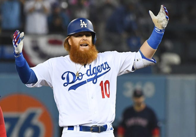 Justin Turner is among the players returning for the NL champion Dodgers.